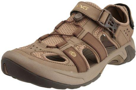 Perfect Teva Women39s Dark Brown Waterproof Outdoor ClosedToe Sport Sandals 6