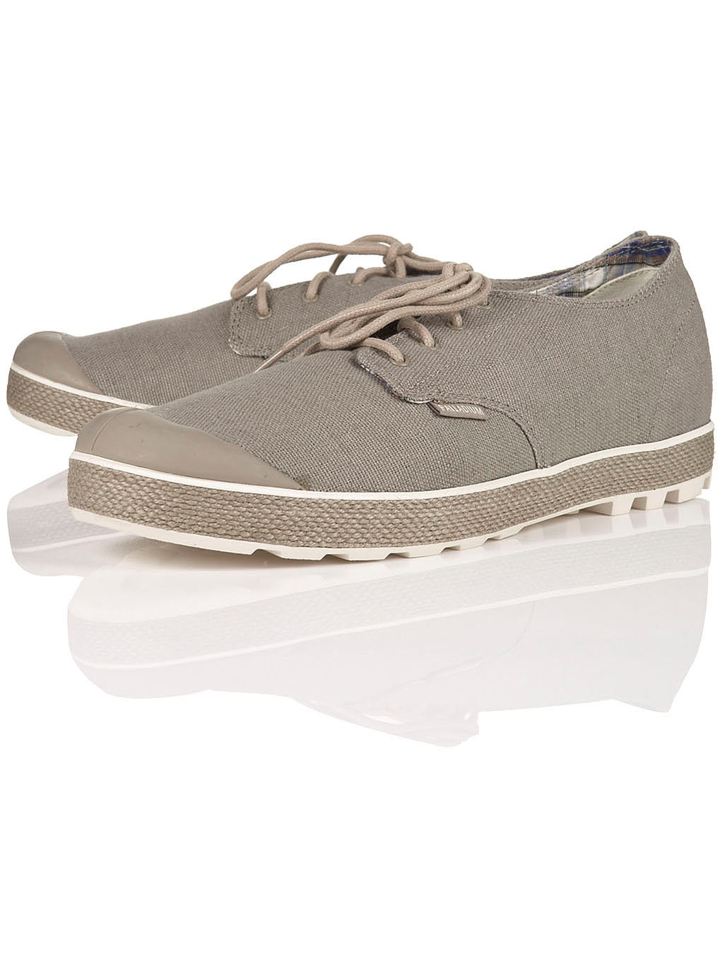 palladium washed pa hightop sneaker in gray for