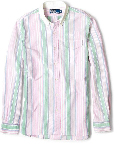 Ralph Lauren Pink Oxford Shirt Polo Ralph Lauren Pink