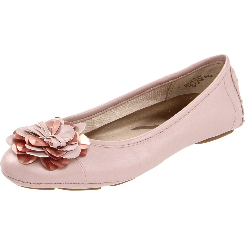Light Pink Flat Shoes