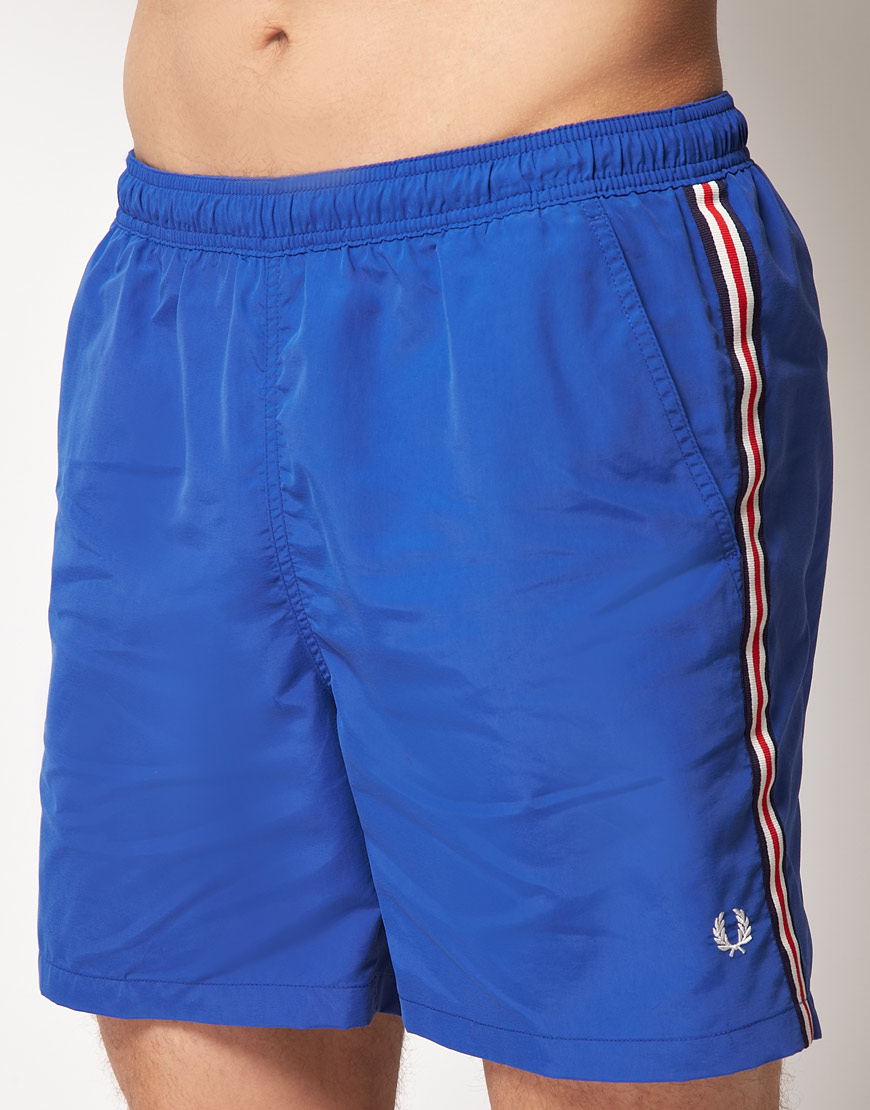 Fred Perry Taped Swim Short