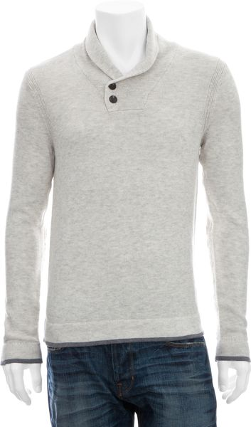 Rag & Bone Sussex Patch Pullover in Beige for Men (brown)