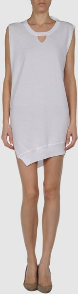 Stefanel Short Dress - Lyst