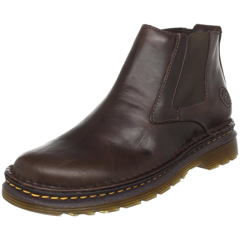 dr martens milton chelsea boot in brown for men lyst. Black Bedroom Furniture Sets. Home Design Ideas