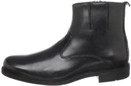 Florsheim Mens Ashland Side Zipper Boot In Black For Men