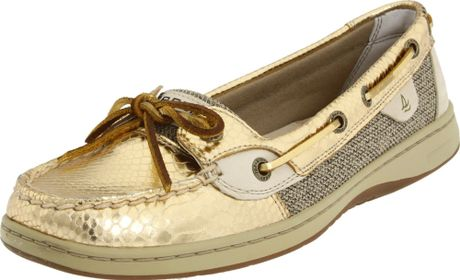 Sperry Top-sider Sperry Topsider Womens Angelfish Gold Snake Shoe in
