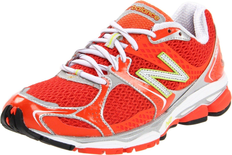 New Balance Womens Running Shoe in Red (cherry tomato