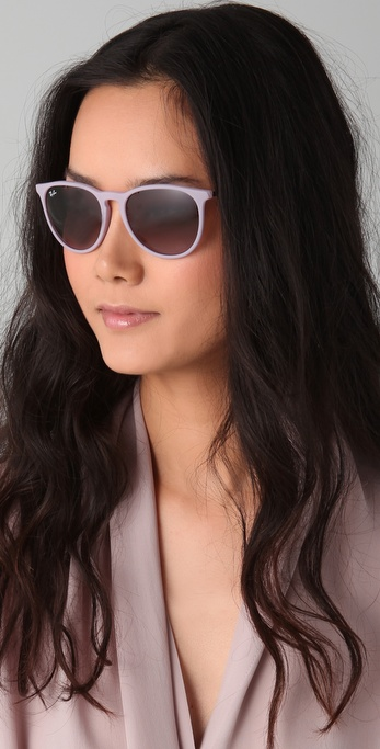 Lyst Ray Ban Youngster Erika Wayfarers In Pink