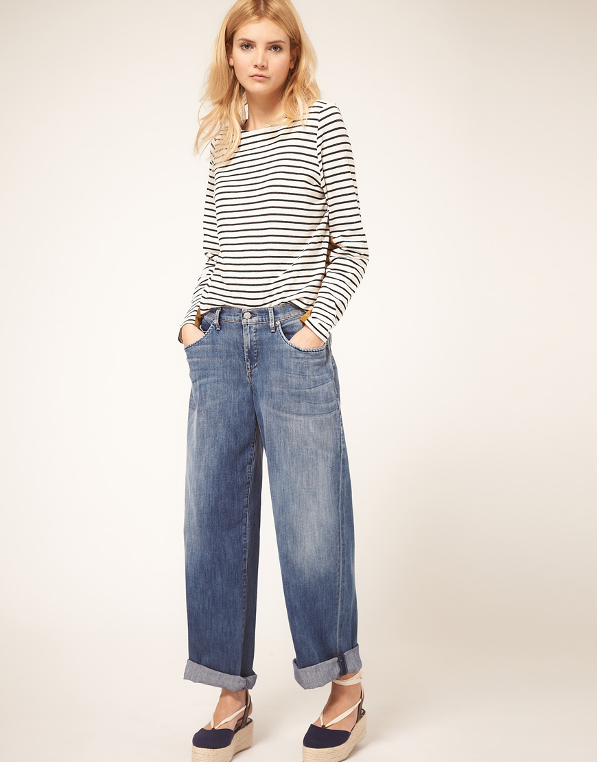 Citizens of humanity Fusion Super Loose Fit Boyfriend Jeans In ...