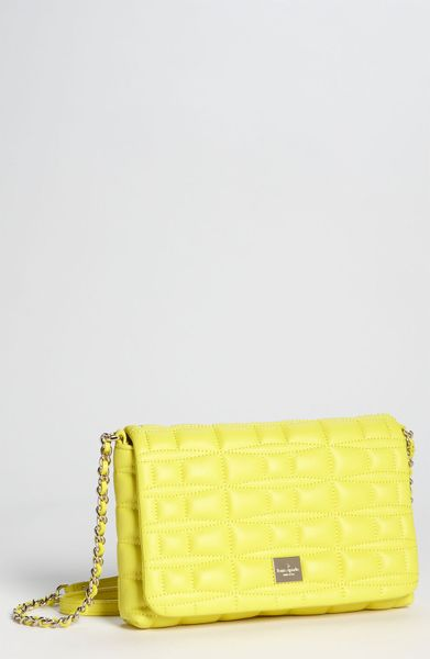 Kate Spade Brianne Crossbody Bag in Yellow (acid yellow) - Lyst