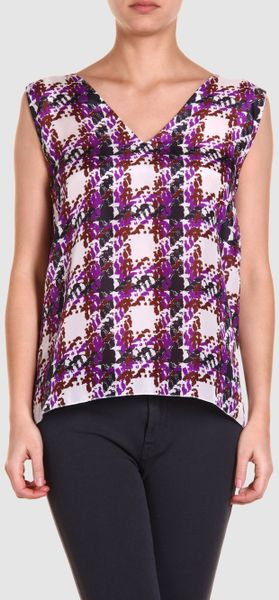 Marni Marni Tops in Purple - Lyst