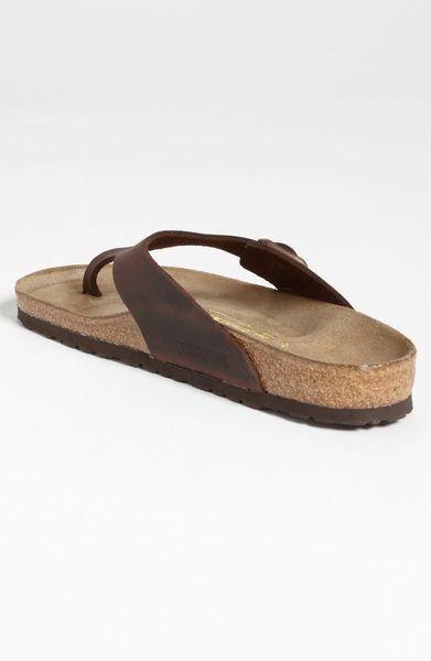 birkenstock mens flip flops leather sandals for men. Black Bedroom Furniture Sets. Home Design Ideas