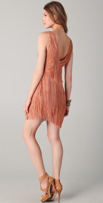 Haute Hippie Flapper Dress