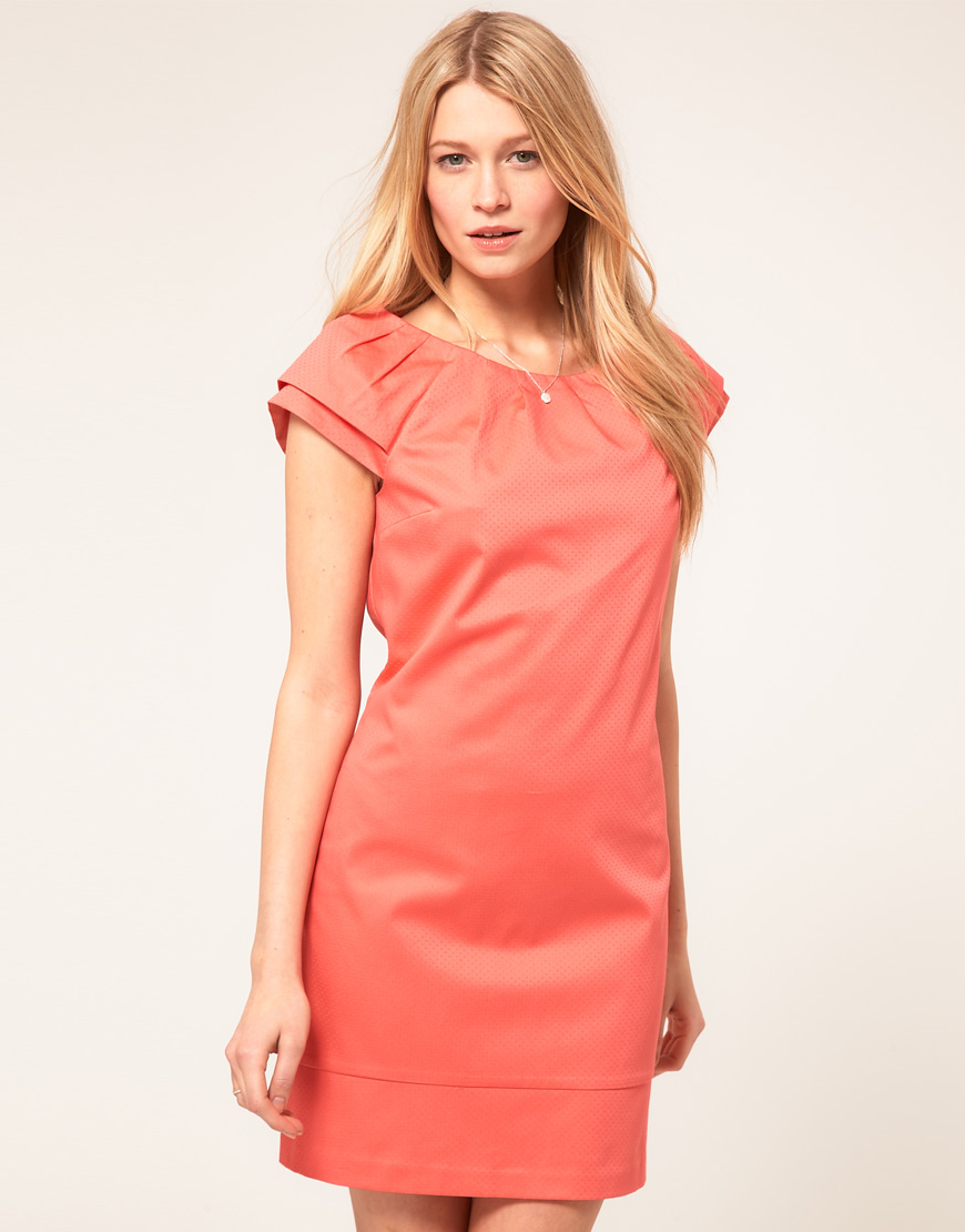 Коралловое платье купить