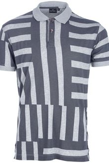 Paul Smith Striped Polo Shirt - Lyst