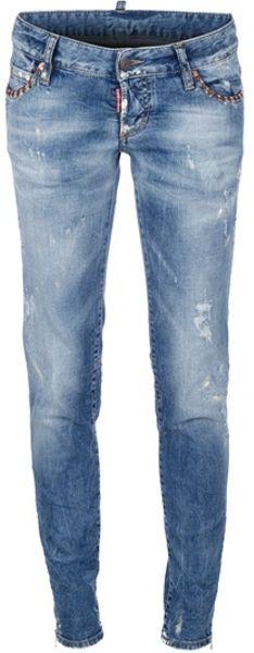 Dsquared2 Jean in Blue - Lyst