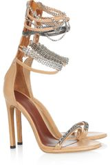 Isabel Marant Rio Chainstrapped Leather Sandals
