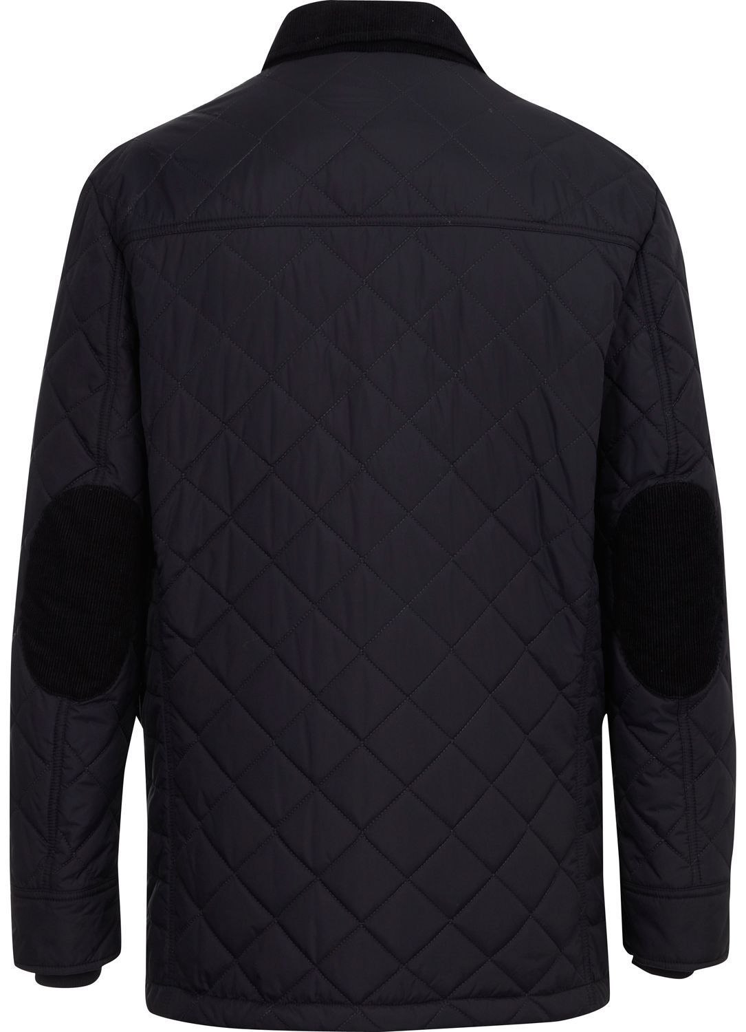 Austin Reed Navy Quilted Padded Jacket in Blue for Men