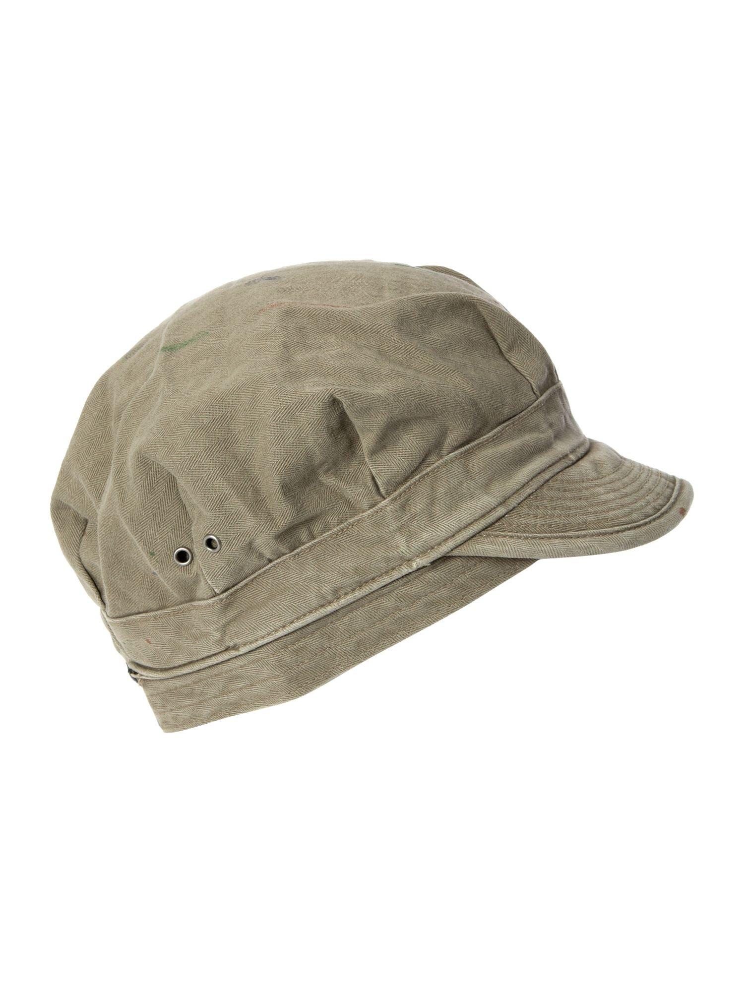 denim supply ralph lauren military cap in khaki for men olive lyst. Black Bedroom Furniture Sets. Home Design Ideas