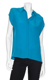 Equipment Exclusive Sleeveless Silk Blouse - Lyst