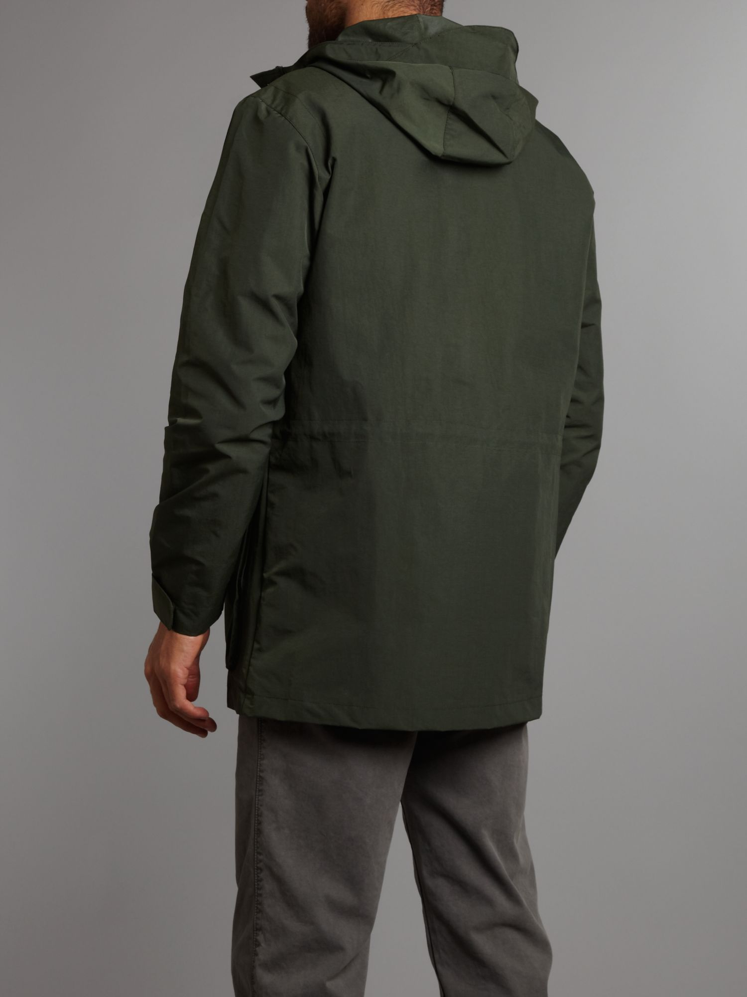 fred perry mountain parka in green for men lyst. Black Bedroom Furniture Sets. Home Design Ideas