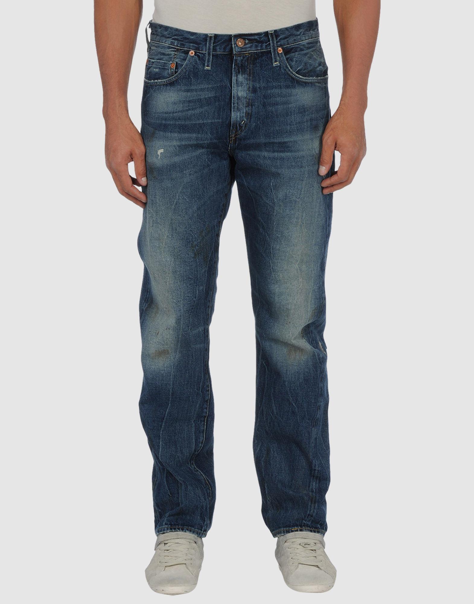 levi 39 s levis vintage clothing denim pants in blue for men. Black Bedroom Furniture Sets. Home Design Ideas