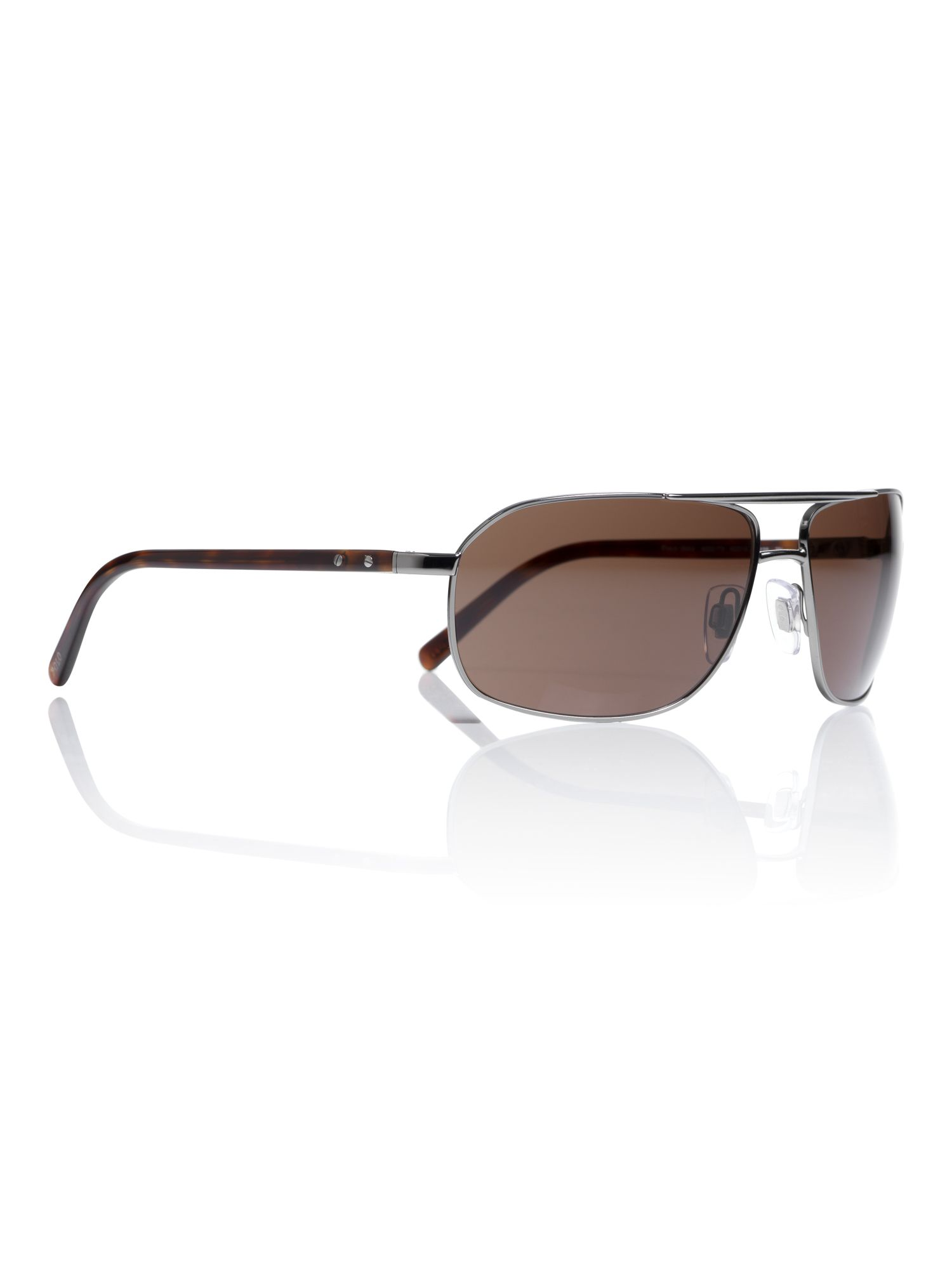 Ralph Lauren Sunglasses Mens  polo ralph lauren mens rectangular sunglasses in gray for men lyst