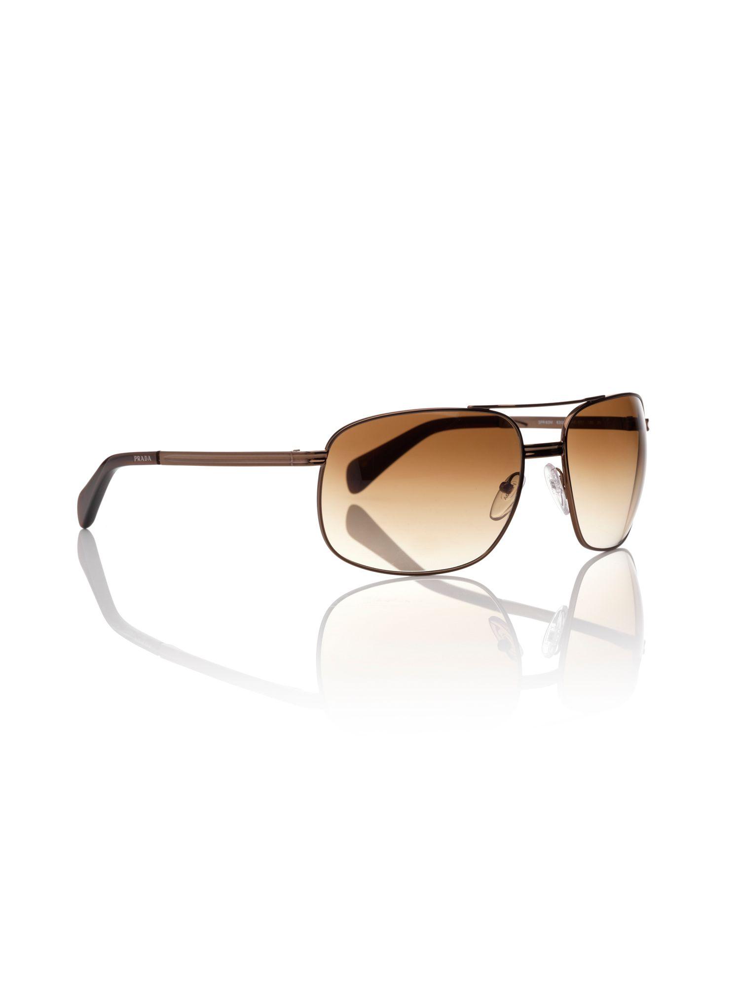 4a61c5acb467 ... new style prada mens sunglasses in brown for men lyst 1e1f9 e9f74