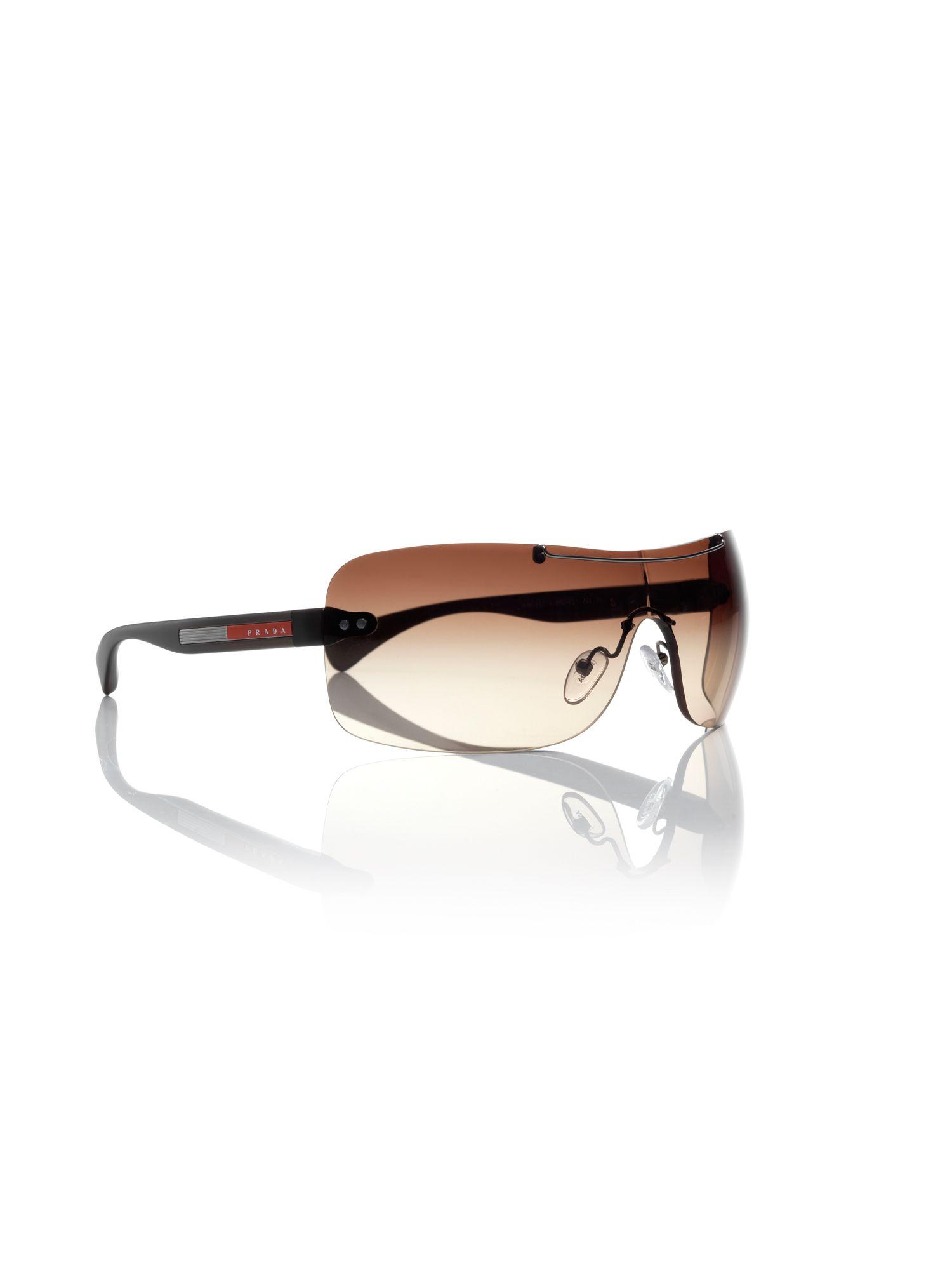 4f99ff65288 Prada Linea Rossa Mens Prada Sport Sunglasses in Gray for Men (red)