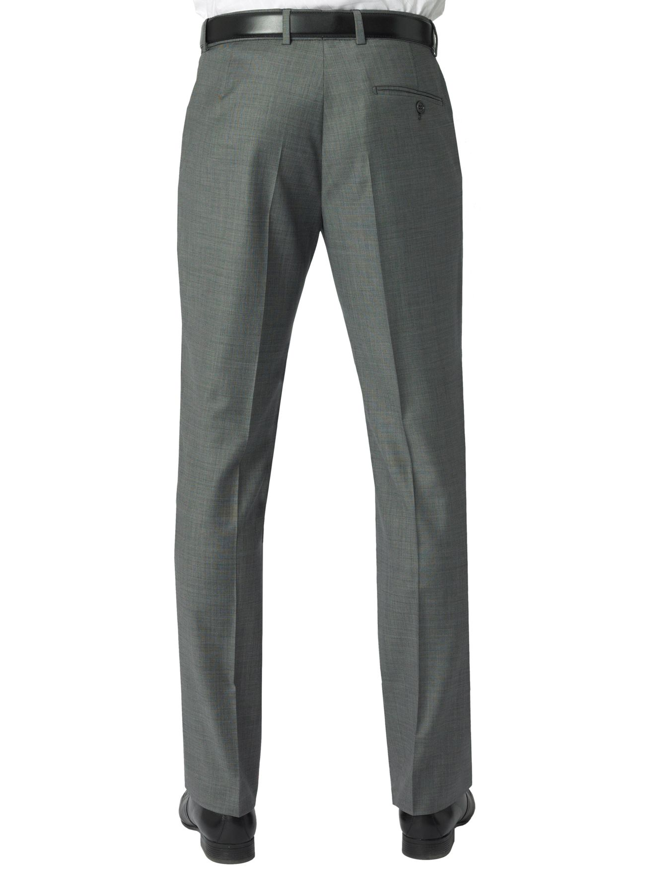 Alexandre Savile Row Plain Trouser in Grey (Grey) for Men