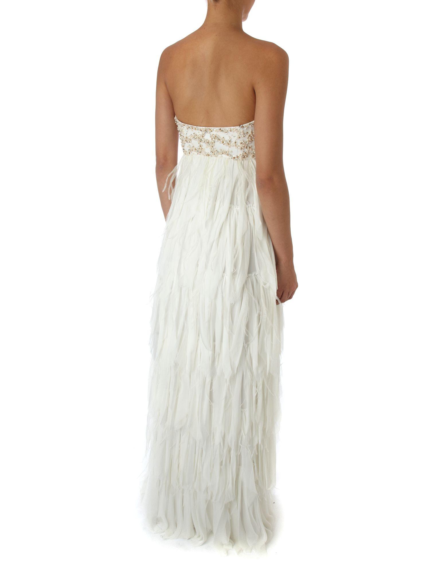 Anoushka g white dress pants
