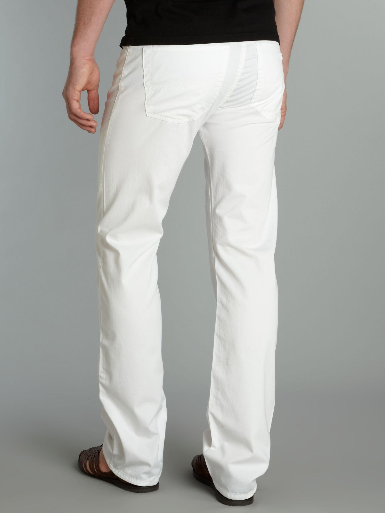 White Armani Jeans Men