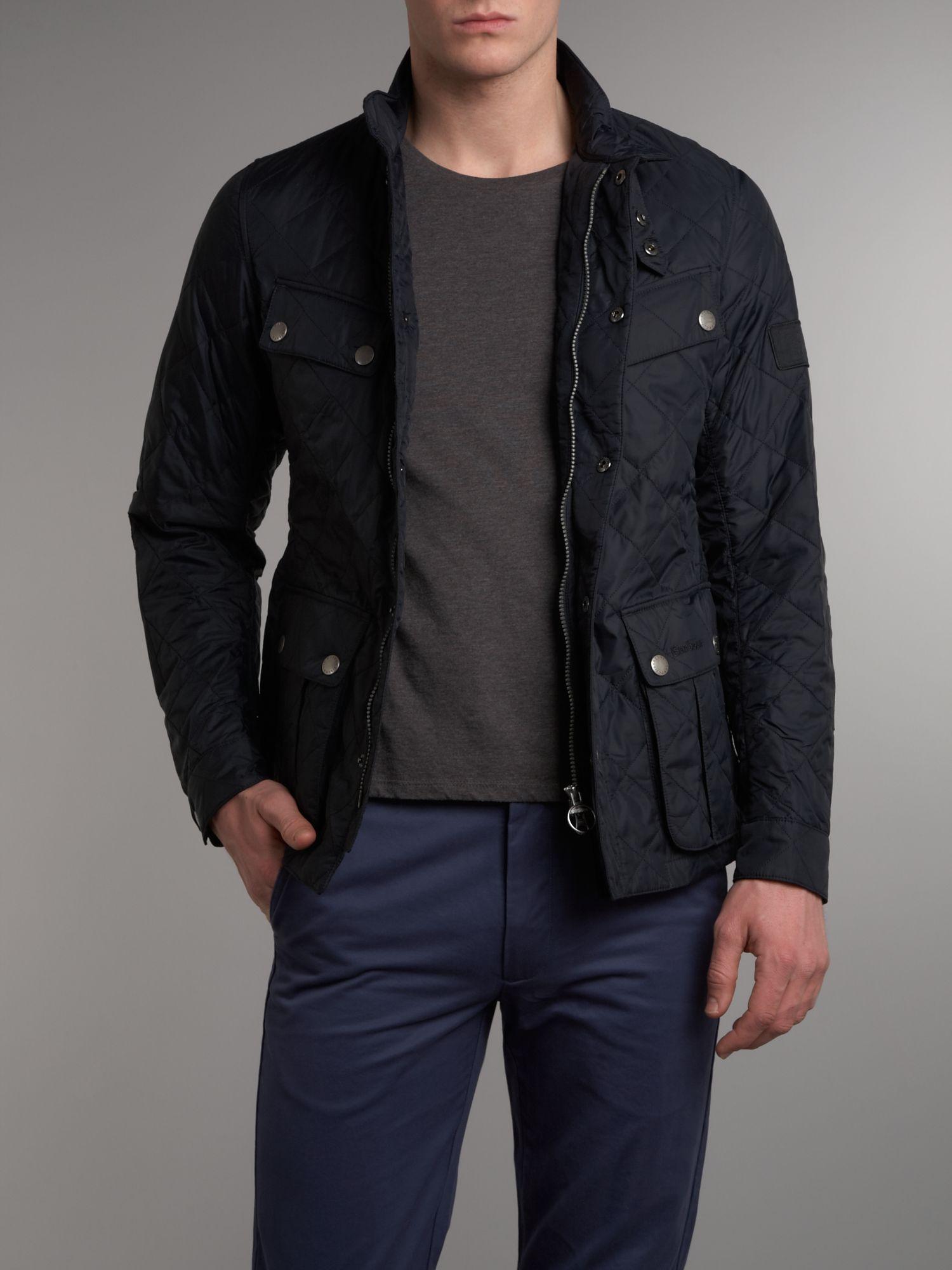 Barbour Ariel Quilted International Jacket in Blue for Men ...