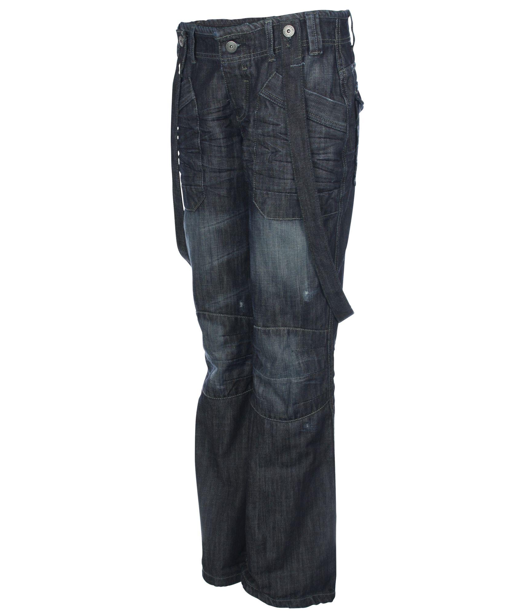 Bench Illuminate Loose Slouch Jeans in Denim Dark Wash (Blue)