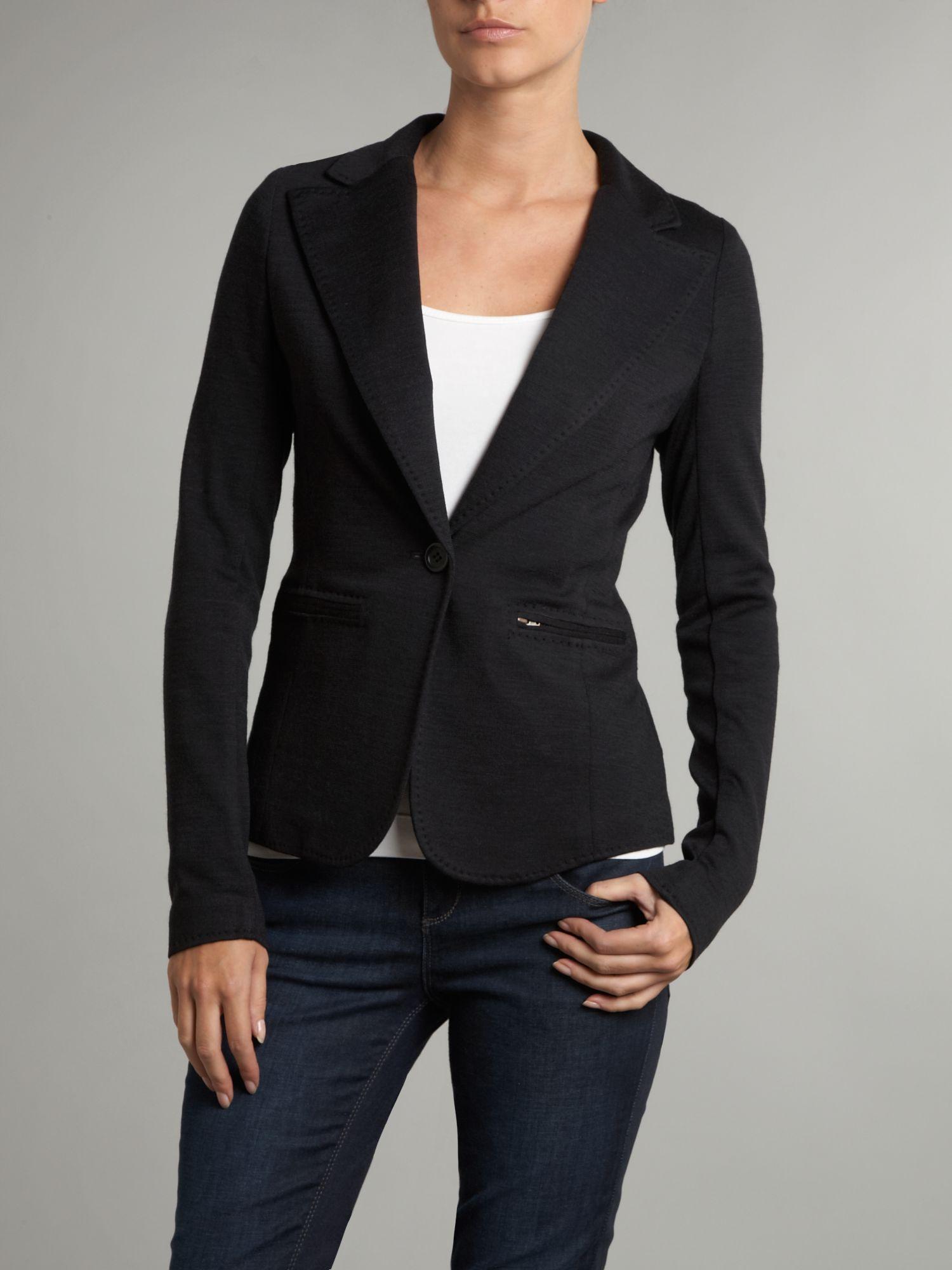 day birger et mikkelsen day margarita blazer in black lyst. Black Bedroom Furniture Sets. Home Design Ideas