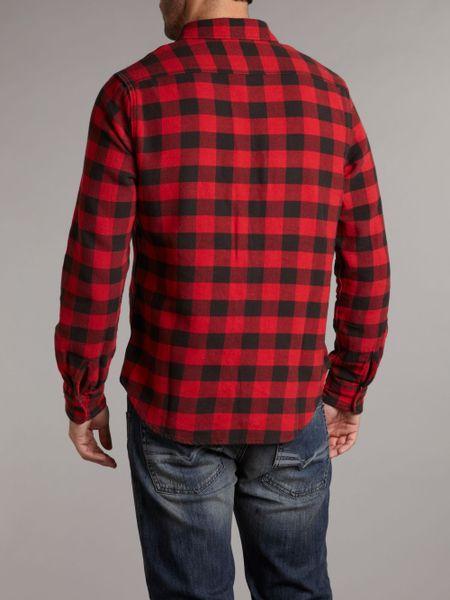 Denim Amp Supply Ralph Lauren Longsleeved Flannel Checked