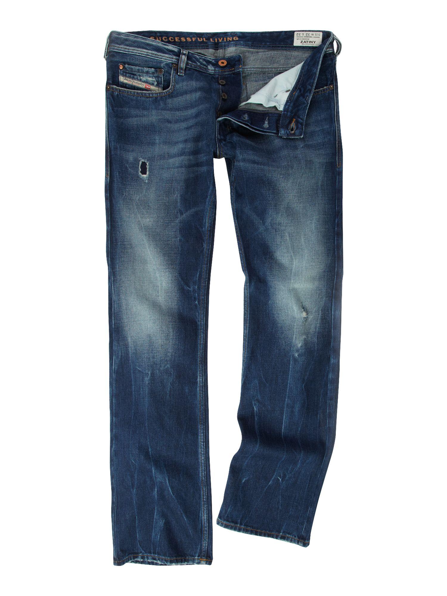 Diesel Zatiny 885w Bootcut Jeans in Blue for Men | Lyst Diesel Jeans Men Bootcut