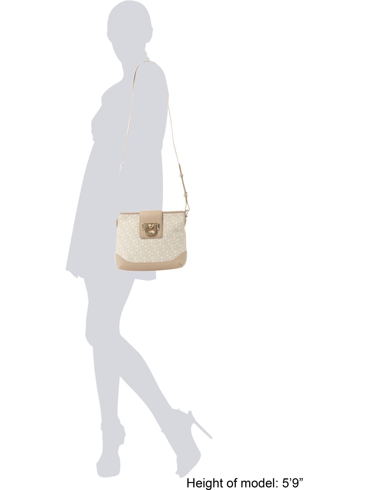 DKNY Tc Vintage Crossbody Bag in Brown (Natural)