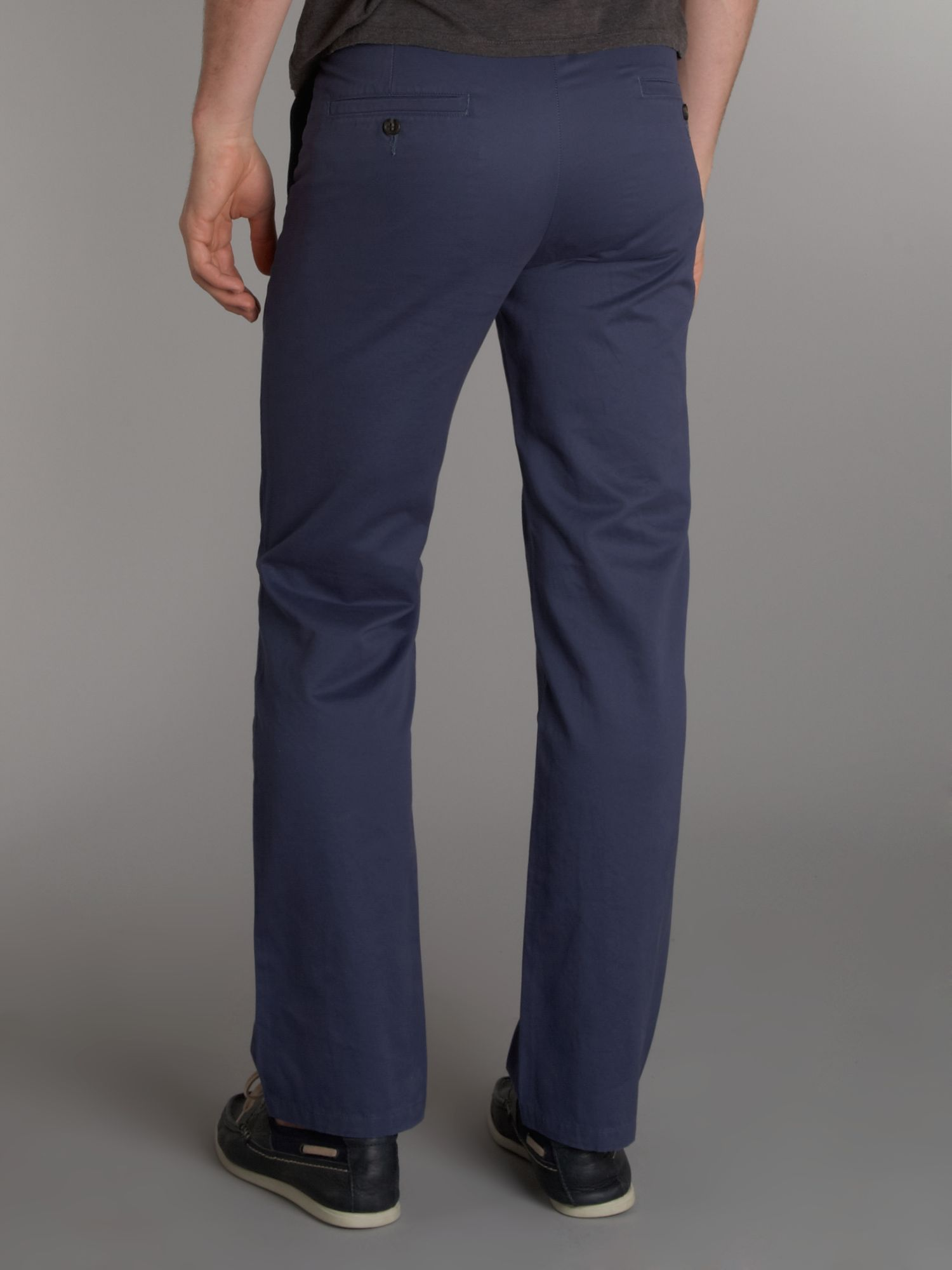 Dockers D1 Colour Straight Fitted Chinos in Slate Blue (Blue) for Men