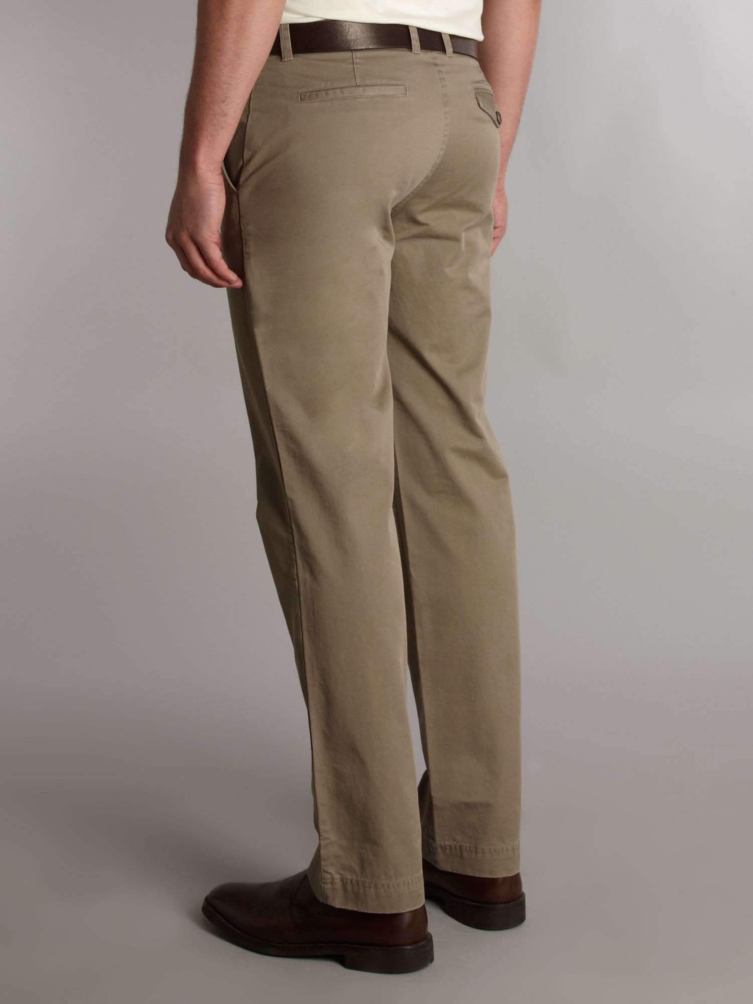 Fred Perry Slim Chino Trouser in Brown for Men