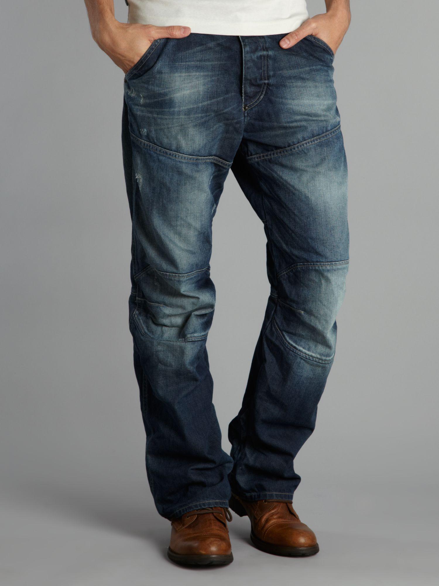 lyst g star raw loose 3d jeans in blue for men. Black Bedroom Furniture Sets. Home Design Ideas