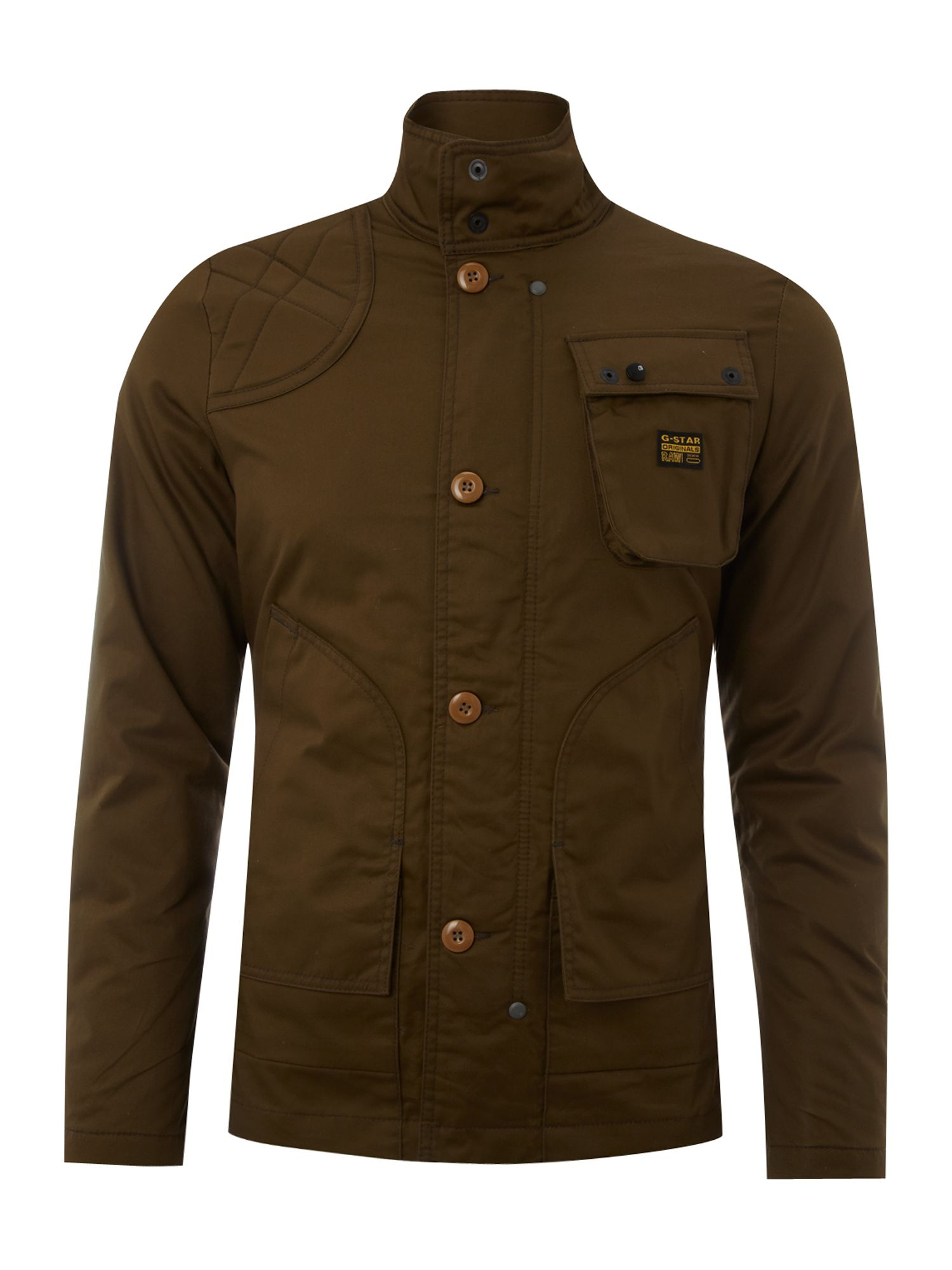 g star raw three pocket jacket in natural for men lyst. Black Bedroom Furniture Sets. Home Design Ideas