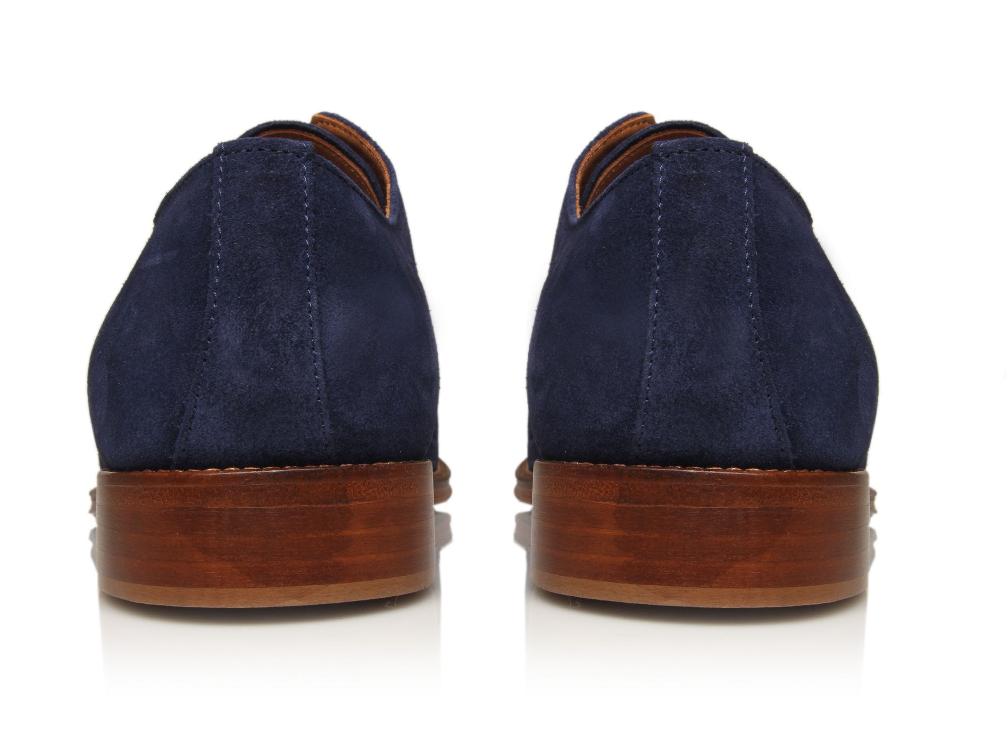 Kurt Geiger Noah Laceups in Navy (Blue) for Men