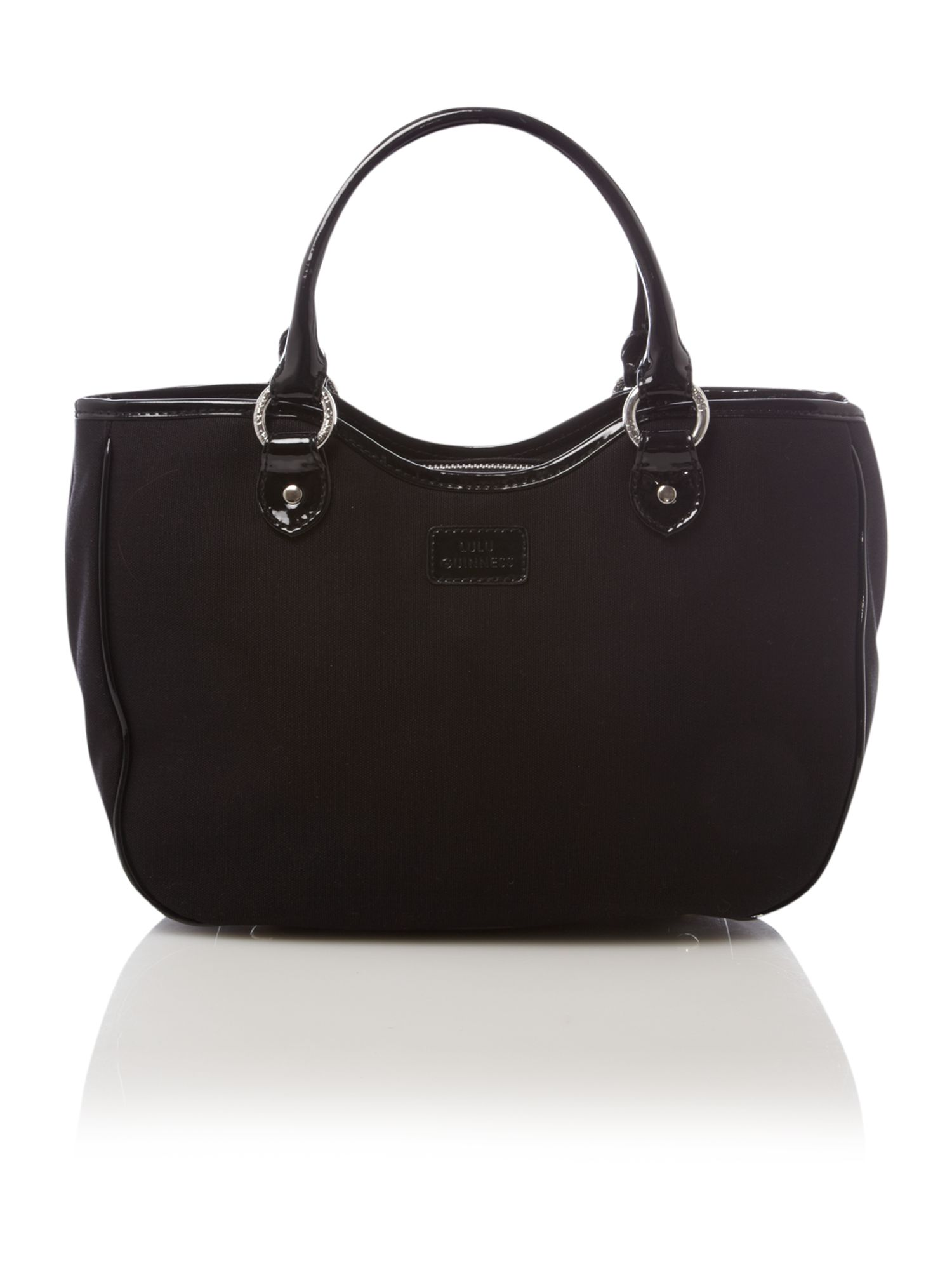 Lulu Guinness Small Wanda Tote Bag in Black