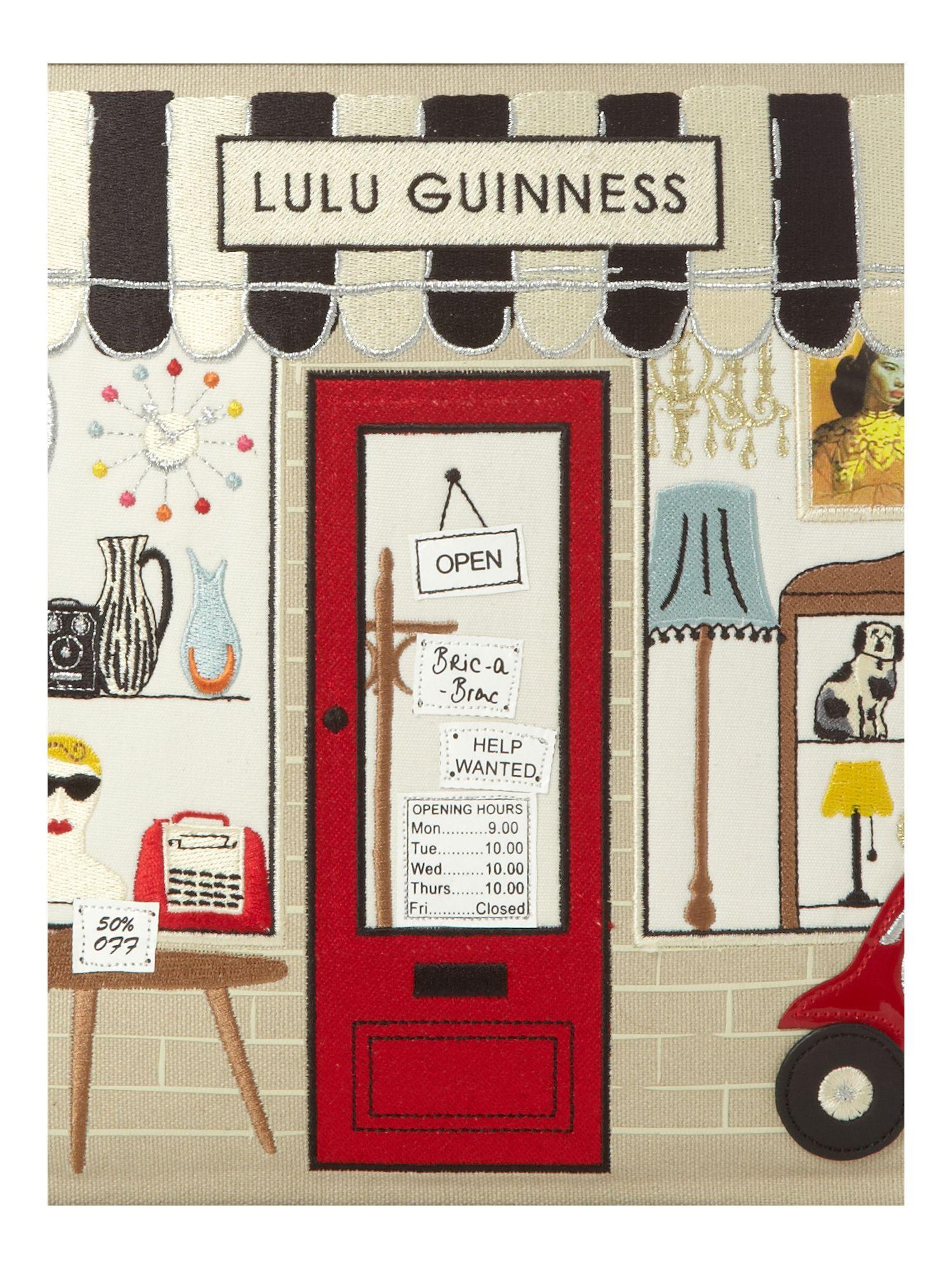 Lulu Guinness Large Edith Shop Tote Bag