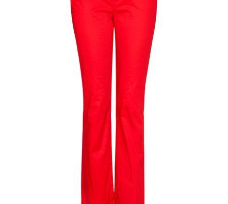 Mango Straight Leg Low Waist Trousers