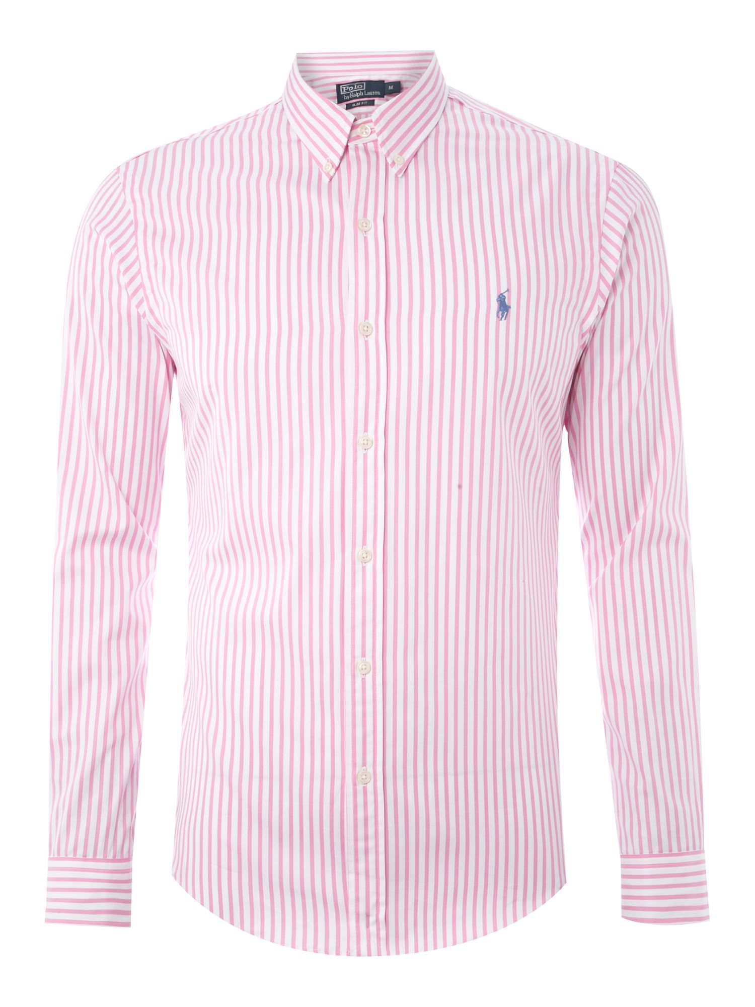 Polo Ralph Lauren Long Sleeved Slim Fitted Bold Striped