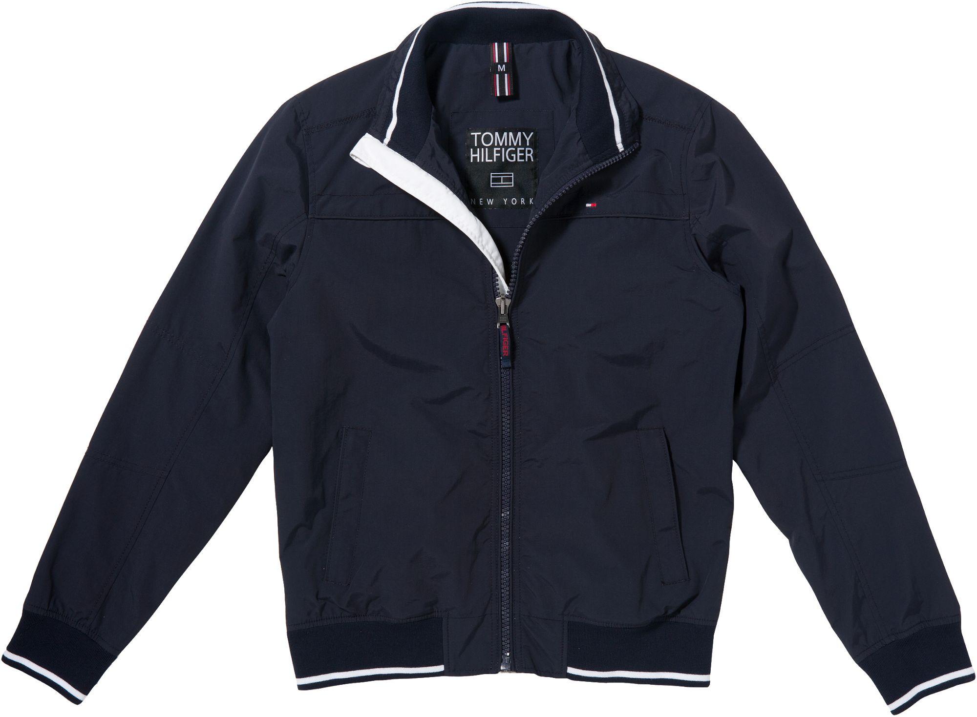 tommy hilfiger new matt bomber jacket in blue for men lyst. Black Bedroom Furniture Sets. Home Design Ideas