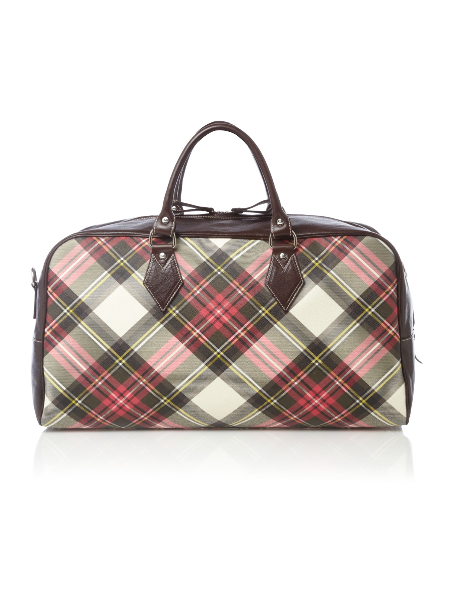 Tartan Weekend Bag | Bags More
