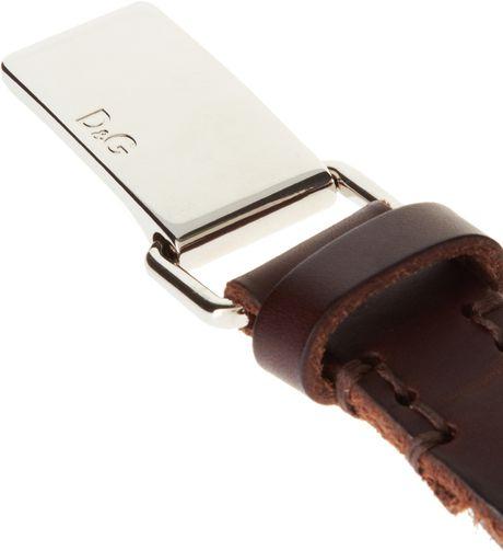 d&g logo buckle belt